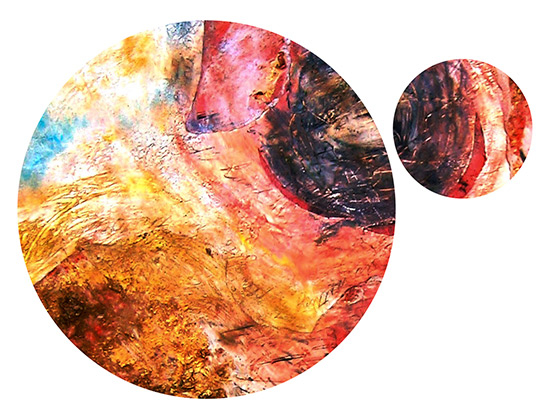 abstract art circles
